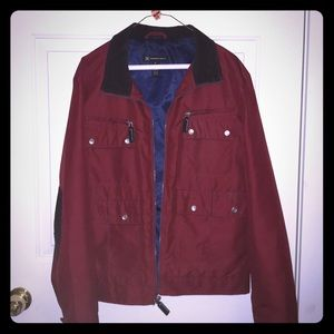 INC Polyester Red Jacket